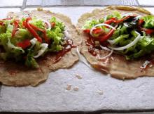 (video)Vegan Flax Bread Wrap Recipe