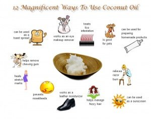 USES FOR COCONUT OIL THAT WILL KNOCK YOUR SOCKS OFF