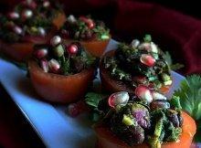 Spicy Diabetes Friendly Vegan Tomato Basket Recipe