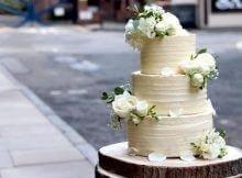 wedding cake plant-based